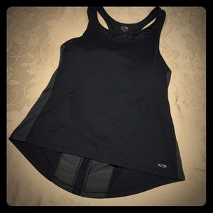 Champion Sports bra and vented Tank in one NWOT L